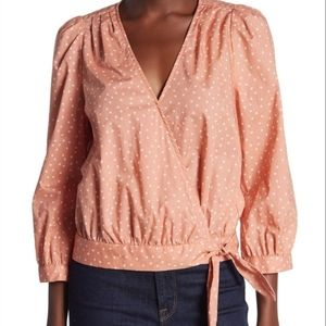 New Madewell Star Scatter Wrap Shirt